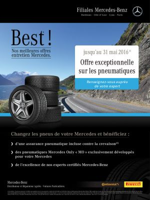 Affiche 60x80 Mercedex Best 2016