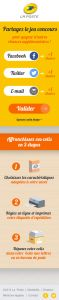 Jeu Concours Colis Mobile Step3