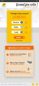Jeu Concours Colis Tablette Verticale Step3