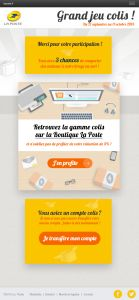 Jeu Concours Colis Tablette Verticale Step4