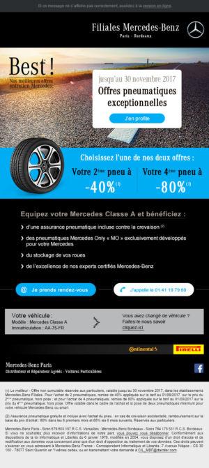 Mercedes Email Best Pneus