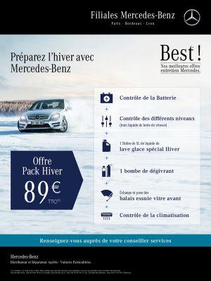 Mercedex Best Pack Hiver Affiche