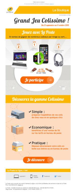 Newsletter Lancement Jeu Concours