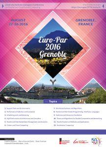 Poster A2 Euro Par 2016 Grenoble