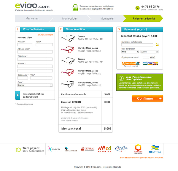 Evioo Checkout B2b2c